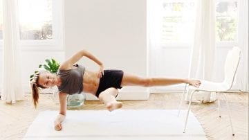 Tone & firm Rockin' ABS. total complete core challenge.