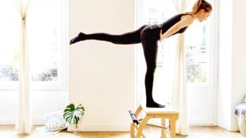 all in one Pilates Chair workout, Fabulously Functional Flamingo -Gone Adventuring