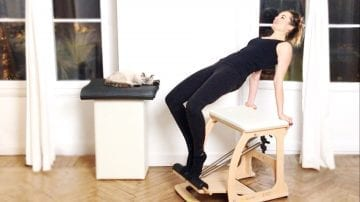 PILATES chair, Longer Leaner Chair Legs by Gone Adventuring