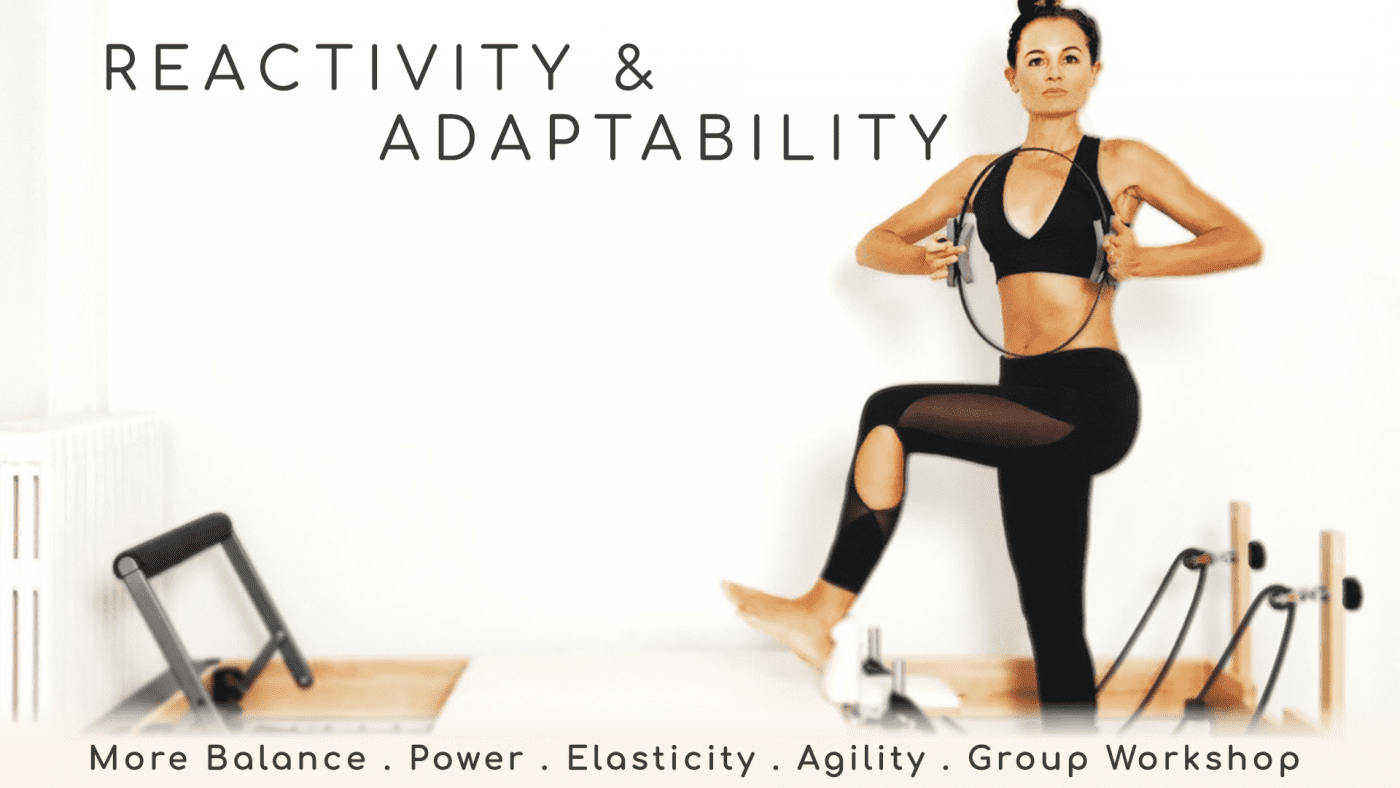 Reactivity & Adaptability – Individual WORKSHOP BLOCK
