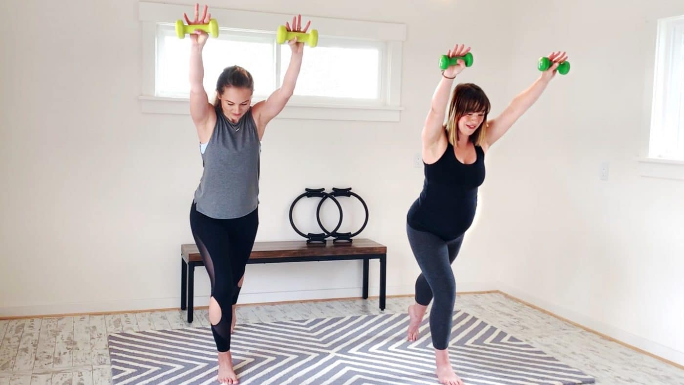 Energizing Ballet Barre with Becca & baby by Gone Adventuring