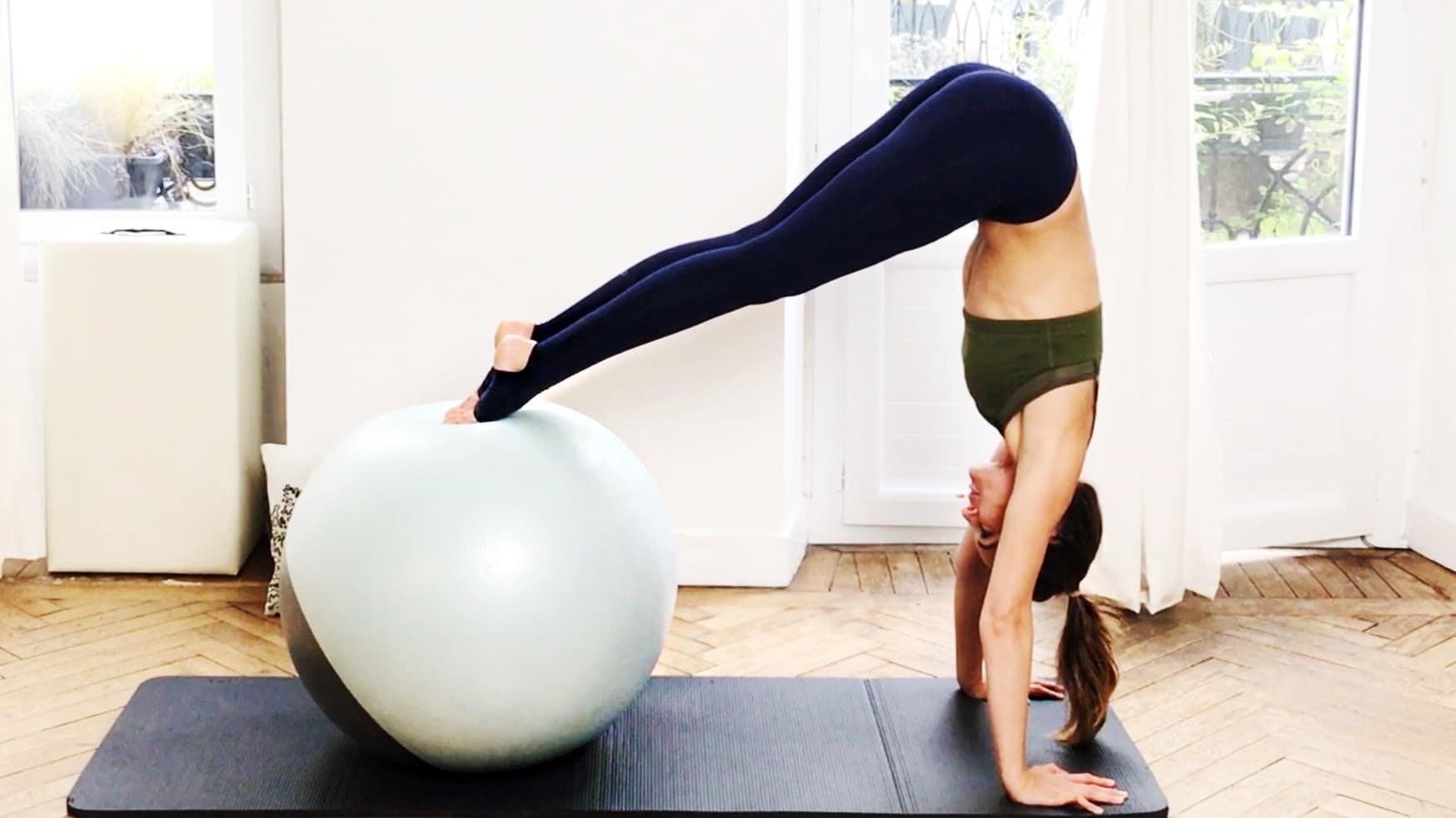 Day 5: Total Body Fitball Challenge by Gone Adventuring