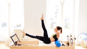 Totally Toned Tight & Coordinated Mind-Body Reformer Roller Workout by Gone Adventuring