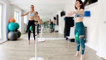 Barre Flow 5 min with Hilal Leigh - Gone Adventuring