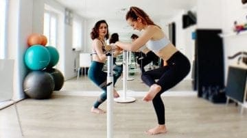 Barre Stretches with Hilal Leigh on Gone Adventuring
