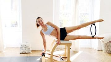 Magic Circle Power Pilates Chair, tone & firm, by Gone Adventuring