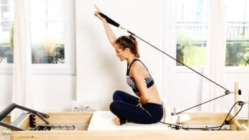 "Serve a Tray series ""How To"" Pilates tutorial by Gone Adventuring"