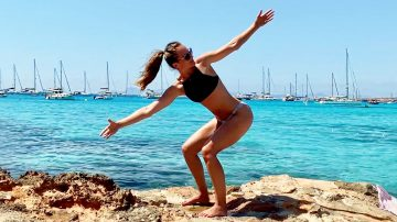 Booty Shaping & Beach Ready workout in Formentera, Spain by Gone Adventuring