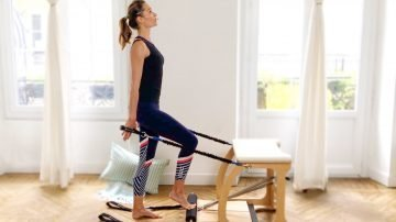 Spinal Mobility Exo Pilates Chair workout Bonanza by Gone Adventuring
