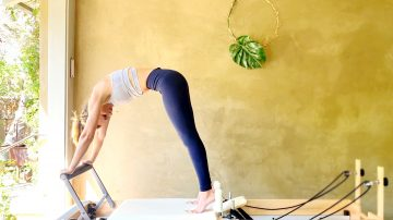 "The Up Stretch, a ""How To"" Pilates tutorial by Gone Adventuring"