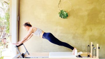"The Long Stretch, a ""How To"" Pilates tutorial by Gone Adventuring"