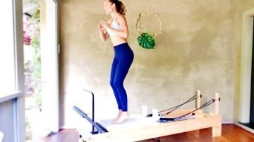 Energizing Cardio Reformer Jump Workout, Live Replay by gone Adventuring