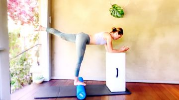 Foam Roller Stretch & Strength, Tone & Flow Mat Live Replay by Gone Adventuring