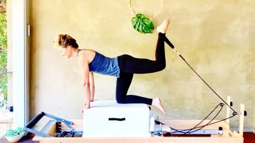 "Leg Day: Long & Lean, ""Reformer Every Day"" Program by Gone Adventuring"