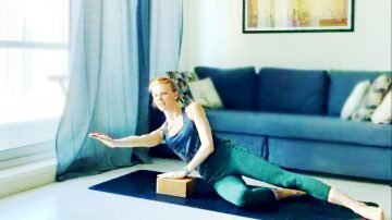 Mat Workout for a Fitter Stronger CORE with Ruta, Live Replay with Gone Adventuring