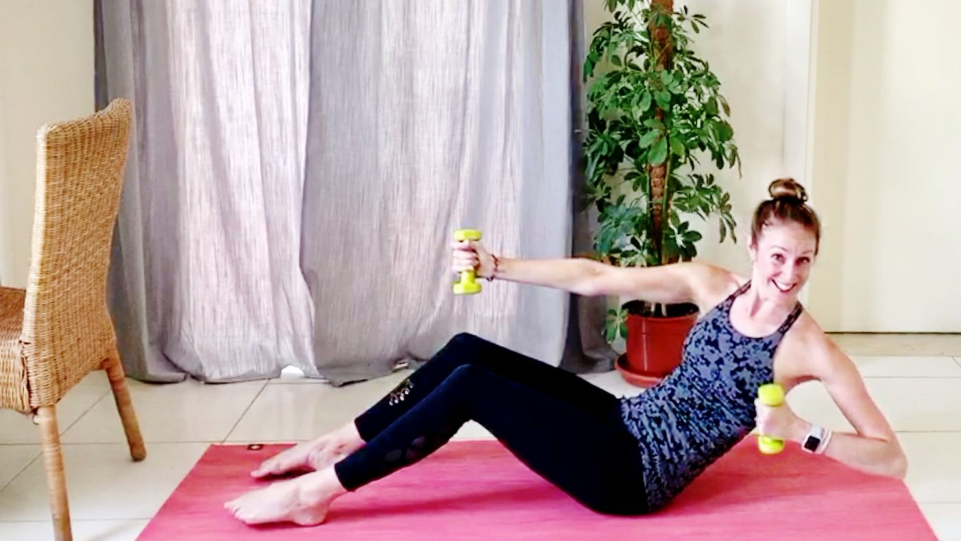 Move those Arms, Abs, Booty & Barre! with Vicky, Live Replay on Gone Adventuring