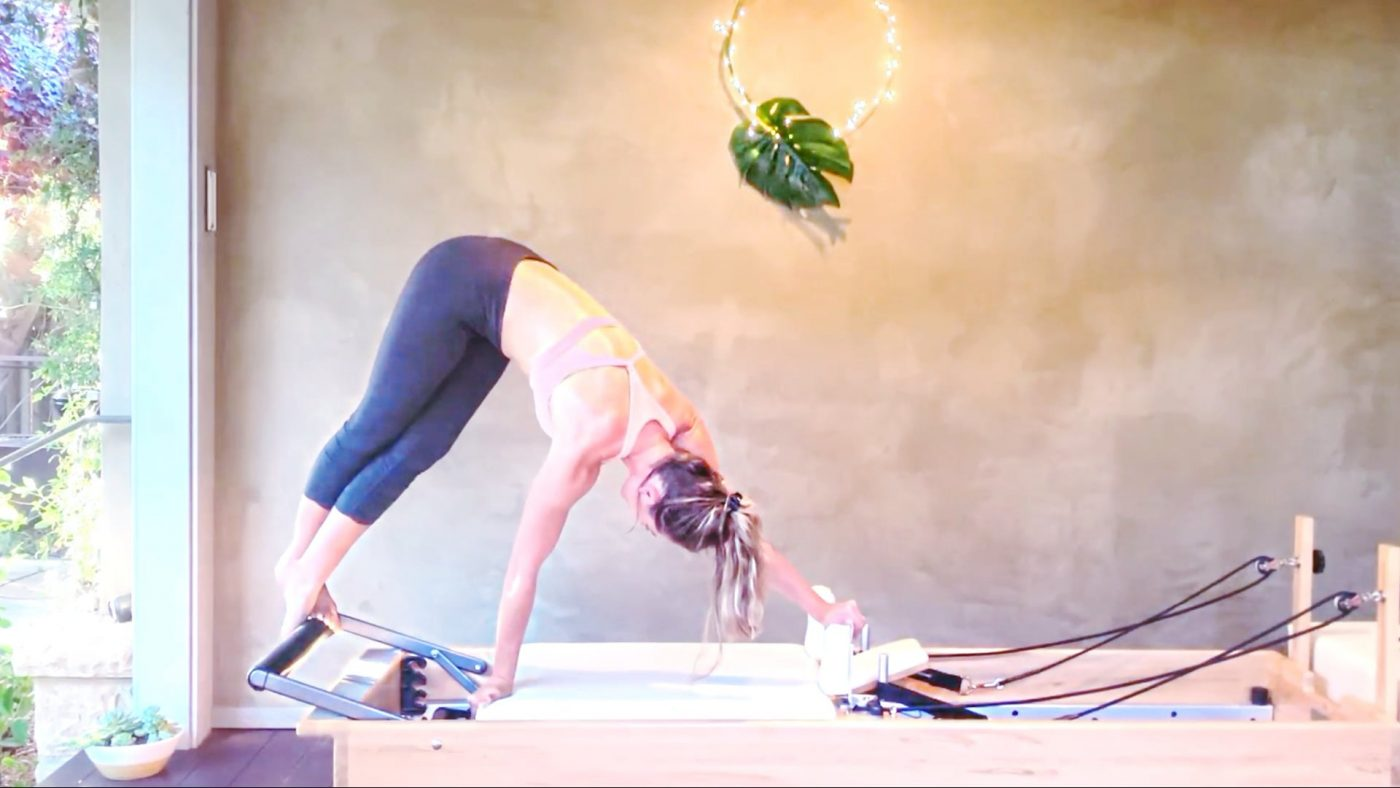 """Full Body Tone & Flow """"Reformer Every Day"""" MONDAY by Gone Adventuring"""
