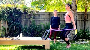 Booty Barre meets Athletic Reformer with Abbey by Gone Adventuring