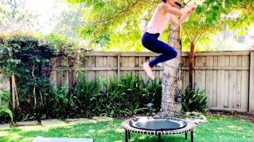 Rebound HIIT Workout in the Air!!