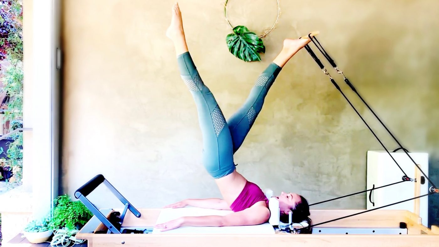 Total Body Moves with Creative Variations Marrying Dowel & Reformer by Gone Adventuring