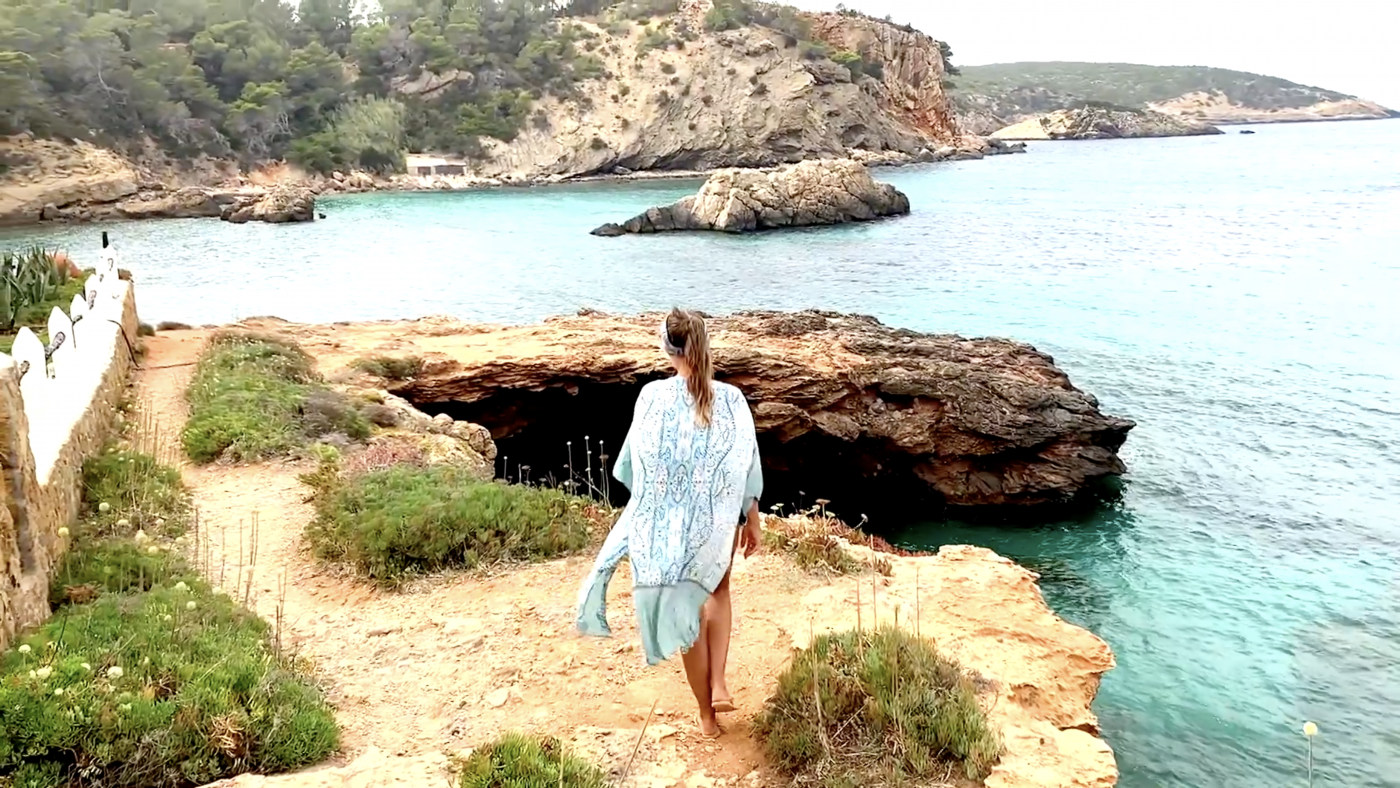 Banded Arms & Legs in Ibiza on-the-go Workout by Gone Adventuring