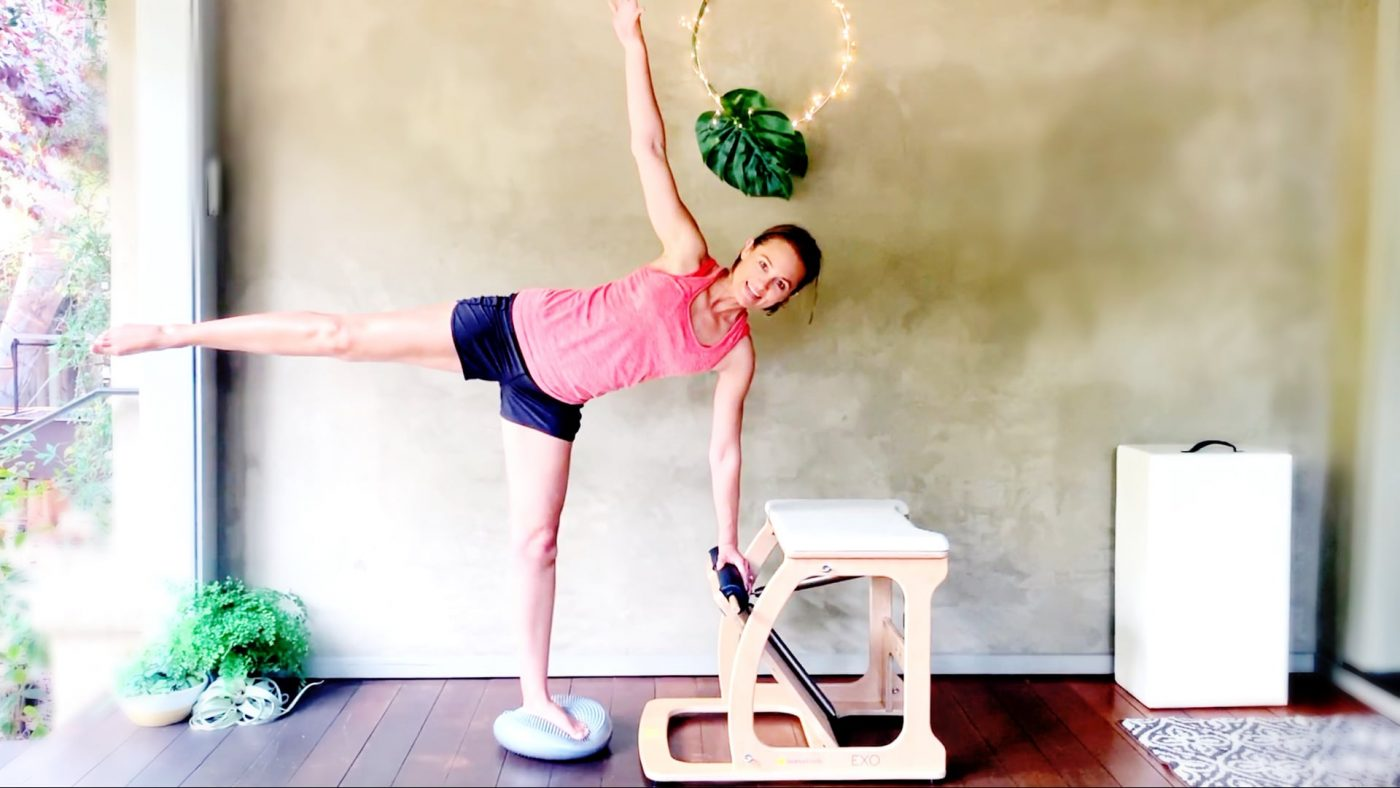 Balanced Body & Booty Chair Workout Pilates Chair by Gone Adventuring