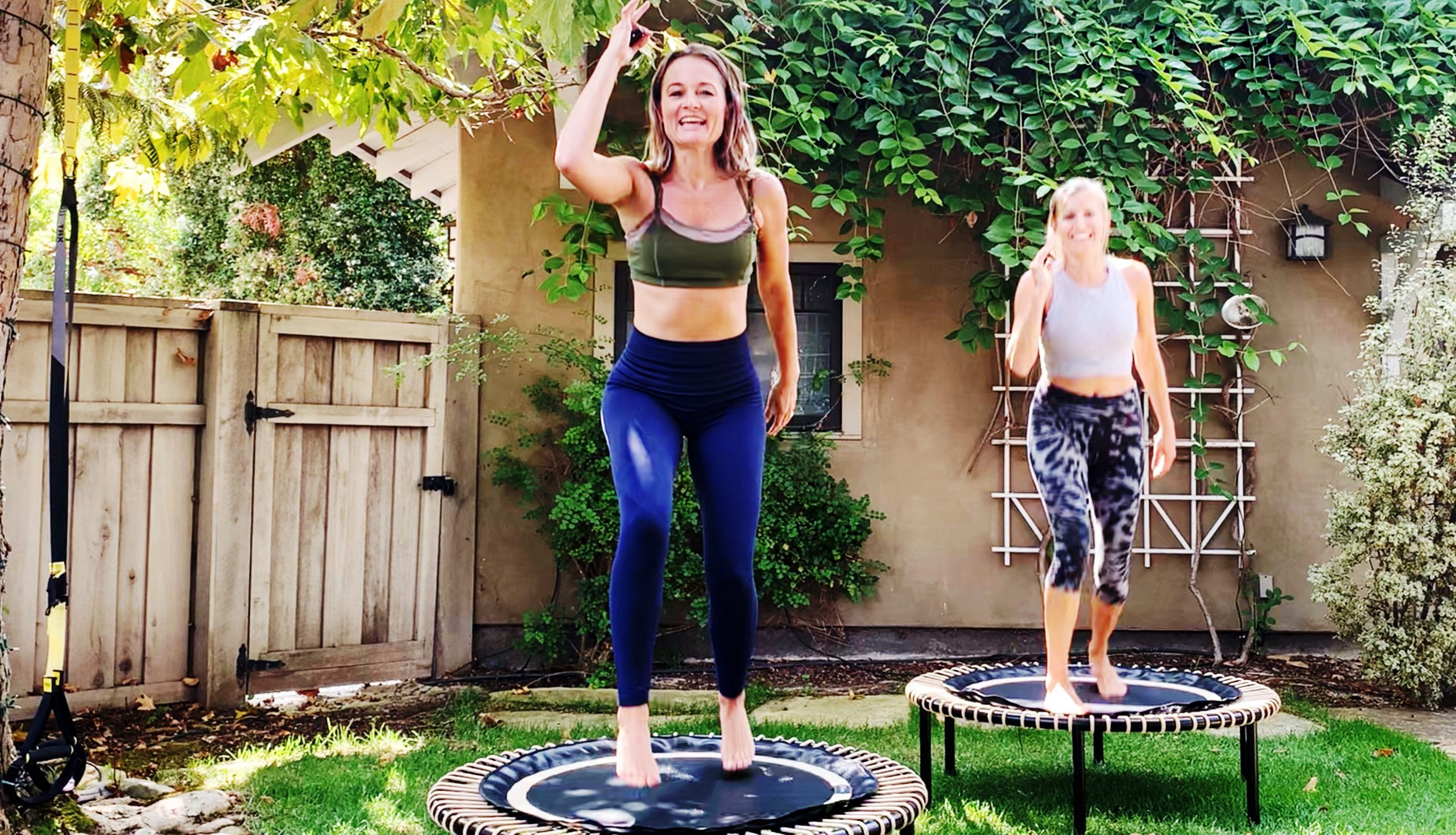 Rebounding on the Trampoline... Why I Bounce ! by Gone Adventuring