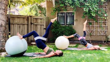 Abs + Booty Stability Ball Strong Workout