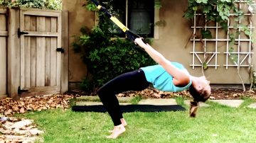 TRX Stretches to Release, Open, & Cool Down by Gone Adventuring