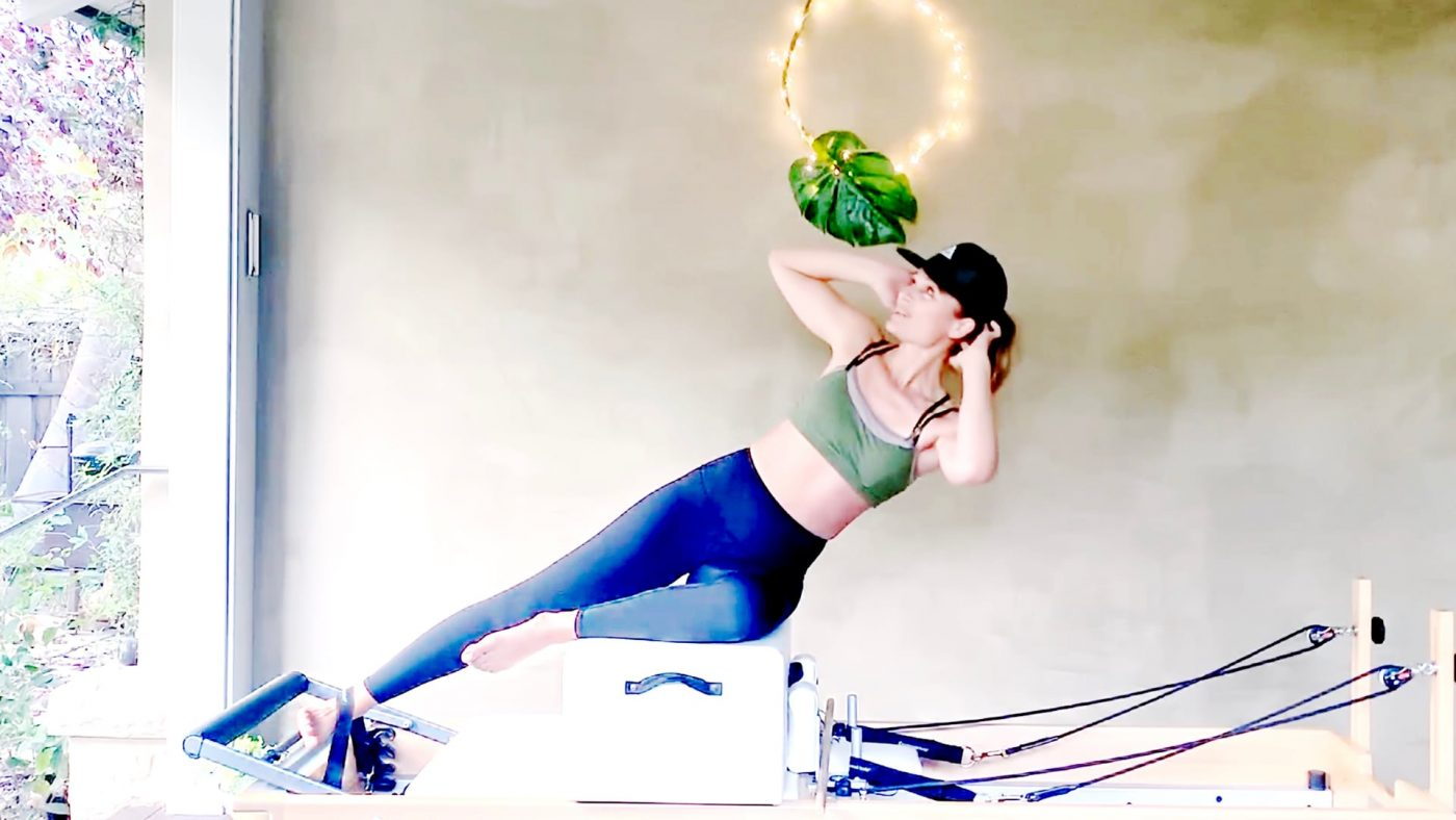 Classical Pilates Reformer Workout - Picking it up from the Middle by Gone Adventuring