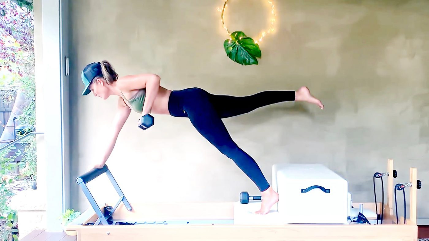 40 Min Power Pilates - Full Body - Weight Lifting Challenge by Gone Adventuring