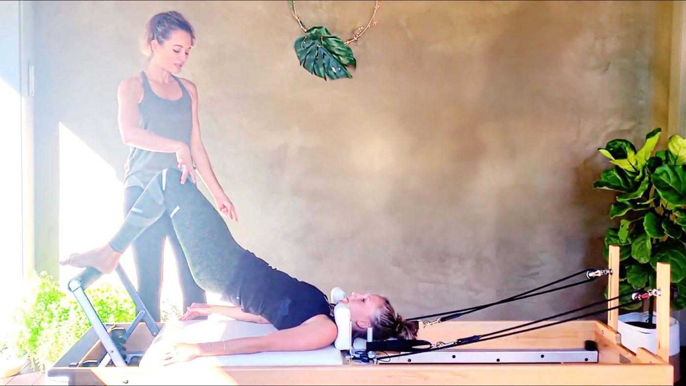 Beginner Reformer Pilates, Moving forward, Part 3 by Gone Adventuring