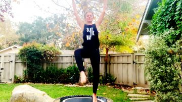 Total Body Bounce Trampoline Class, Energy Boost! by Gone Adventuring