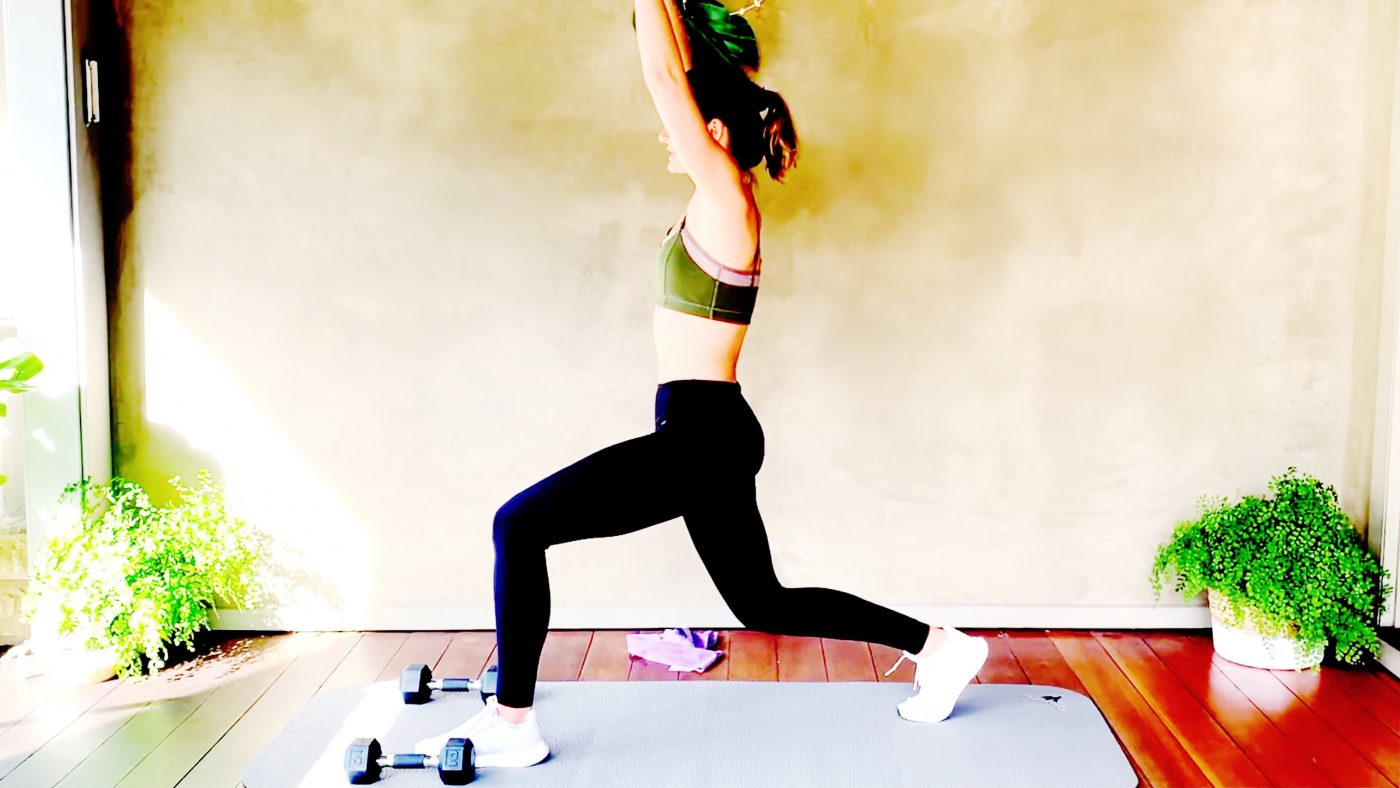 Full Body Strength Training at home with weights, day 4, Fat loss! by Gone Adventuring