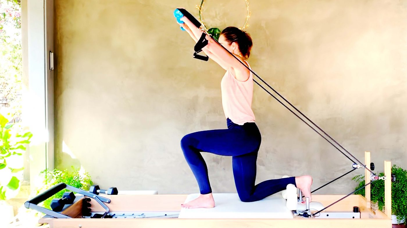 Strength Training Full Body Reformer, day 4 for fat loss & lean muscle build by Gone Adventuring