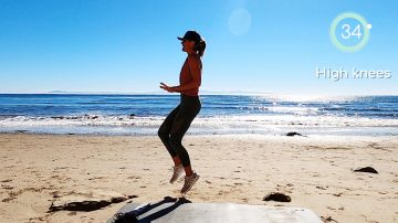Day 15: Cardio Circuit Training at the Sea 🏖 by Gone Adventuring