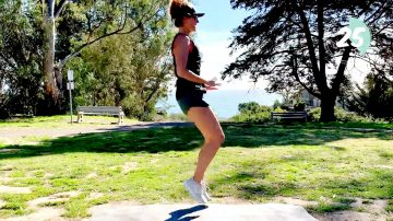Day 25: Dynamic Toning Cardio Workout, Total Body Power & Stamina by Gone Adventuring