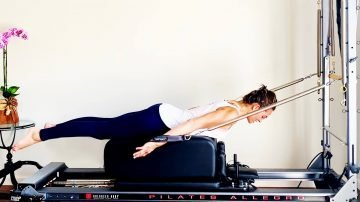 Toned Lean Legs Workout with Reformer/Tower Combo by Gone Adventuring