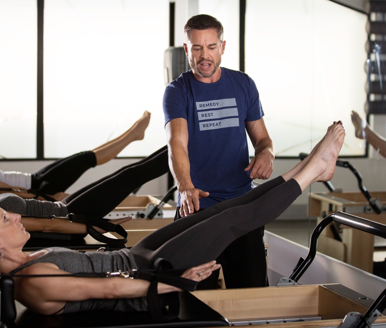 Steve Mazich with Remedy Pilates and Barre