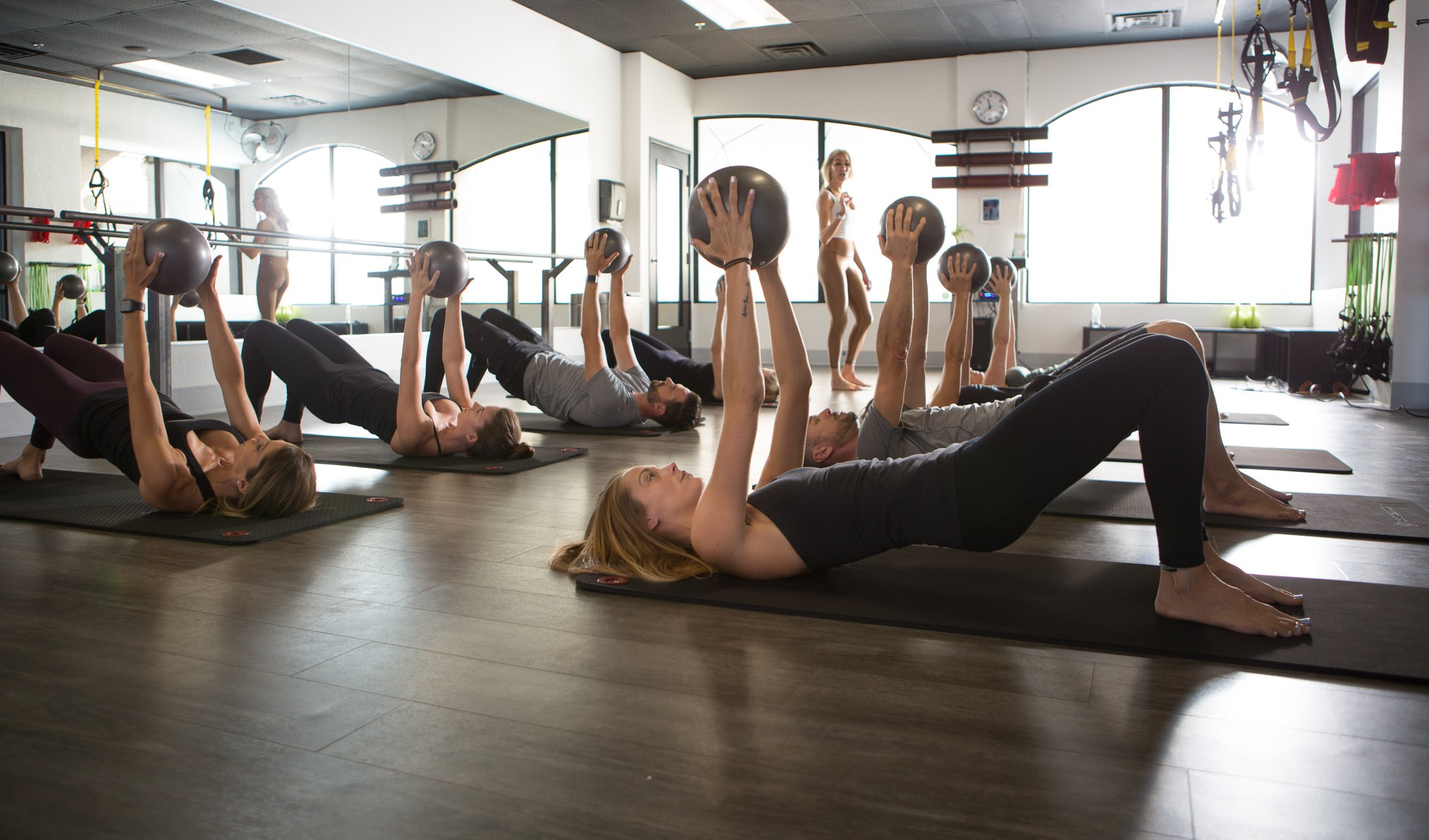 Pilates with weights by Remedy Pilates and Barre with Gone Adventuring