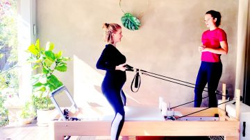 Momma's Booty & Balance Prenatal Reformer at 19 weeks by Gone Adventuring