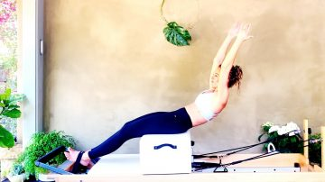 Sit Ups with Twist on a Short Box, Day 3 by Gone Adventuring