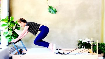 Breath & Flow in Pilates Classical Reformer, the Theme of Day 6 by Gone Adventuring