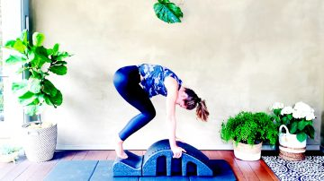 Bosu Abs and Obliques under 20 min workout, Rock your Core, Day 10 by Gone Adventuring