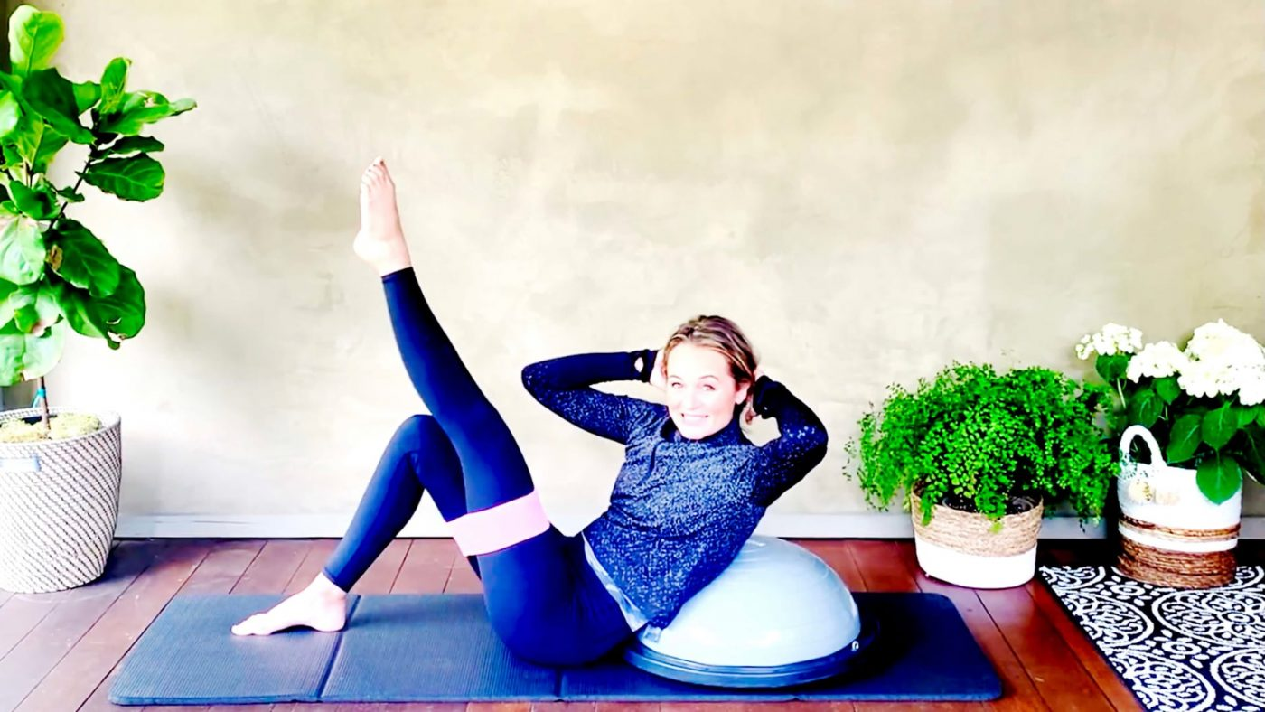 Your Core Workout Plan from Home continues, Day 11, Rock your Abs! by Gone Adventuring