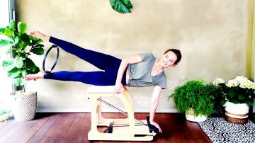 Fire Up workout - Abs & Adductors - Rock your Core, Day 19