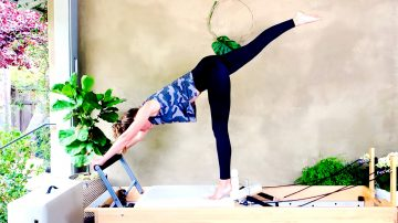 Mindful Movement from Center-out, Classical Reformer, Day 13 by Gone Adventuring