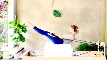 """How To: The Backstroke: a """"How To"""" Pilates tutorial by Gone Adventuring"""