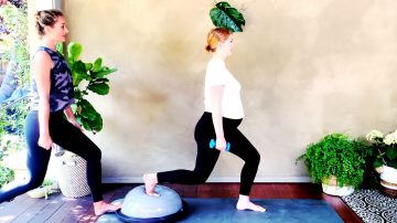Gentle Movement for Light Arms & Legs Prenatal session at 27 weeks by Gone Adventuring
