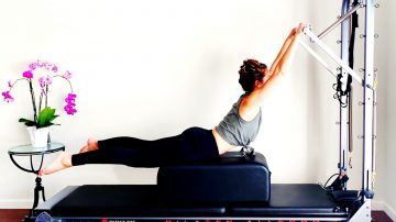 Kristi's Full Body Stretch Routine on the Trap Table - Weekend Vibes by Gone Adventuring